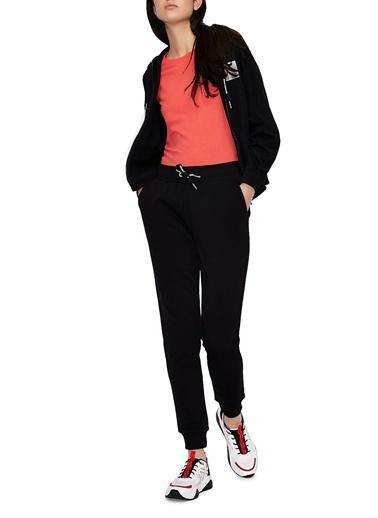 Armani Exchange  % 100 Pamuklu Eşofman Altı Kadın Eşofman Altı 3Kyp71 Yj2Hz 1200 Siyah